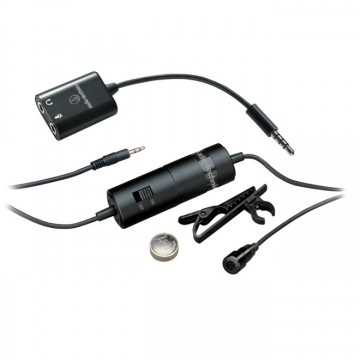 AUDIO TECHNICA ATR3350IS LAVALIER MICROPHONE