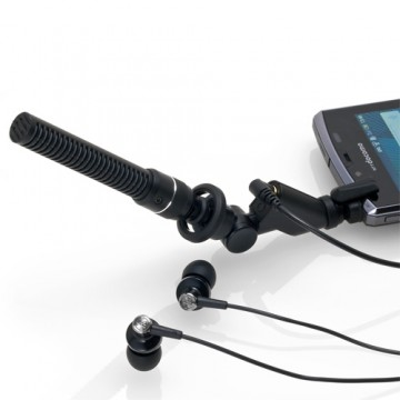 Audio Technica AT9913iS  Monaural Plug-in Microphone for Smartphone