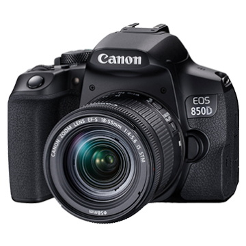CANON EOS 850D KIT EF-S18-55mm f/4-5.6 IS STM