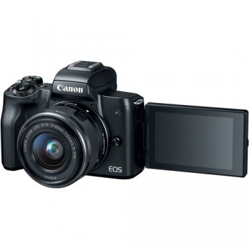 CANON EOS M50 KIT W/M15-45 IS STM LENS