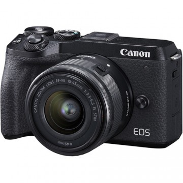 CANON EOS M6 MARK II KIT W/M15-45 IS STM LENS