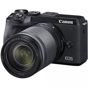 CANON EOS M6 MARK II KIT W/EFM18-150 IS STM LENS