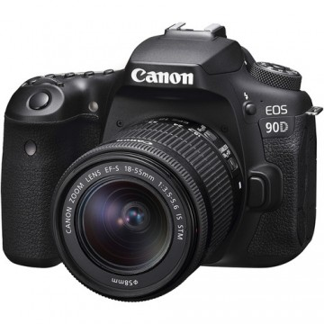 Canon EOS 90D KIT (W) (EF-S18-55mm f/3.5-5.6 IS STM ) DSLR