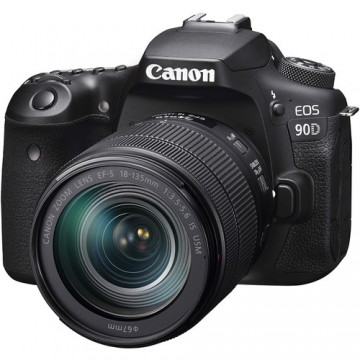 Canon EOS 90D KIT (W) (EF-S18-135mm f/3.5-5.6 IS USM) DSLR