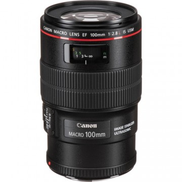 CANON EF 100 f2.8 L Macro IS USM LENS