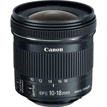 CANON EF S10-18 f4.5-5.6 IS STM LENS