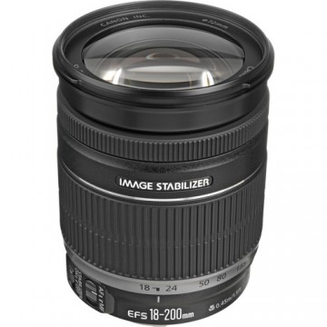 CANON EF S18-200 f3.5-5.6 IS LENS