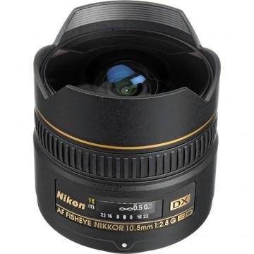 NIKON LENS  AF DX Fisheye-Nikkor 10.5mm f/2.8G ED