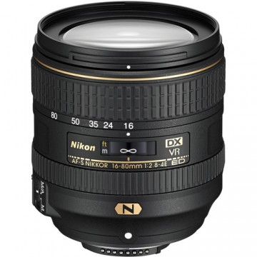 NIKON LENS  AF-S DX NIKKOR 16-80mm f/2.8-4E ED VR