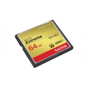 SANDISK CF 64GB EXTREME 120MB/S(SDCFXSB-064G-G46)