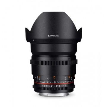 Samyang Lens 16mm T2.2 MK II VDSLR Nikon