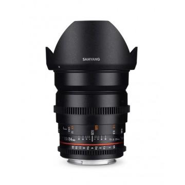 Samyang Lens 24mm T1.5 MK II VDSLR Nikon