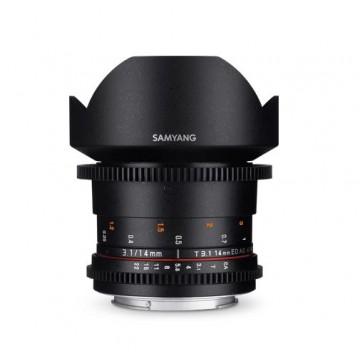 Samyang Lens 14mm T3.1 MK II VDSLR Nikon