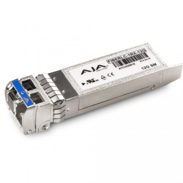 AJA 1-Channel 12G-SDI Single Mode LC Fiber Receiver SFP