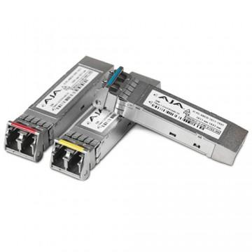 AJA 1-Channel 12G-SDI Single Mode LC Fiber Transmitter SFP