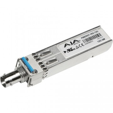 AJA 1-Channel 12G-SDI Single Mode ST Fiber Receiver SFP
