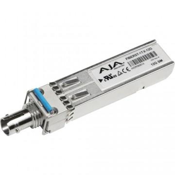 AJA 1-Channel 12G-SDI Single Mode ST Fiber Transmitter SFP