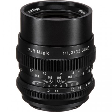 Clearance (New Old Stock) SLR Magic 35mm T1.4 E-mount