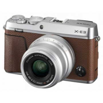 Clearance (New Old Stock) FUJI FINEPIX X-E3 KIT W/XF18-55MM LENS BROWN