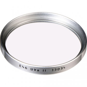 Clearance (New Old Stock) LEICA 13034 UVa II E46 FILTER - SILVER