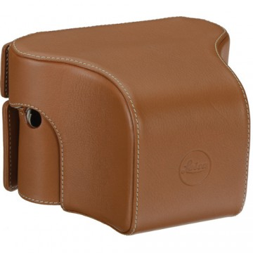 Clearance (New Old Stock) LEICA 14890 EVER-R. CASE M/M-P (240) W. SMALL FR. COGNAC