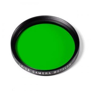 Clearance (New Old Stock) LEICA 13063 FILTER GREEN E39 BLACK