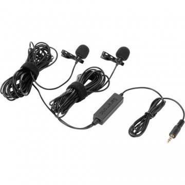 Clearance (New Old Stock) SARAMONIC LAVMICRO 2M DUAL WIRED LAVALIER MIC