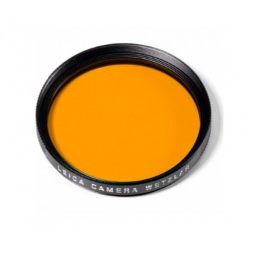 Clearance (New Old Stock) LEICA 13061 FILTER ORANGE E39 BLACK