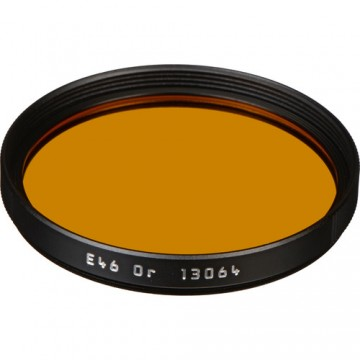 Clearance (New Old Stock) LEICA 13064 FILTER ORANGE E46 BLACK
