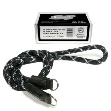 Clearance (New Old Stock) Yosemite Strap Half Dome Black (9mm x 126cm)