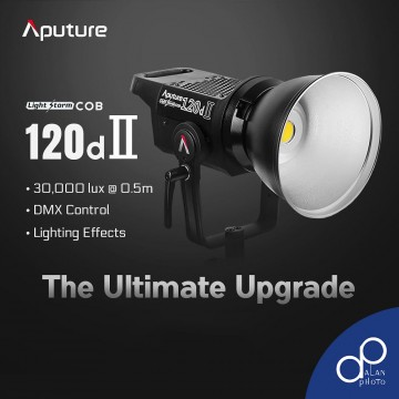 APUTURE LS C120D MK II (V-MOUNT) LED VIDEO LIGHT KIT