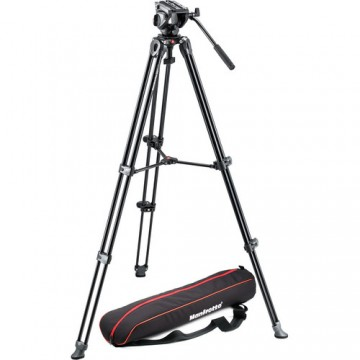 MANFROTTO - MVH500A FLUID VIDEO HEAD AND MVT502AM TRIPOD