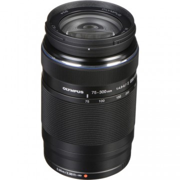 Olympus Lens  75-300mm F4.8- 6.7mm II Ultra zoom lens with ZERO coating Ultra zoom lens with ZERO coating.