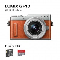 Panasonic Lumix GF10 Kit with 12-32mm Lens (4K Selfie Camera)