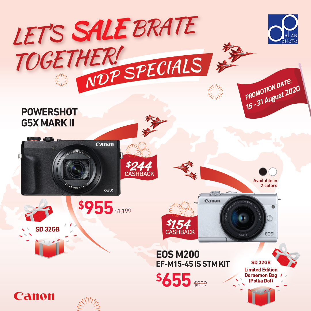 Canon National Day 2020 Promotion, Round 2
