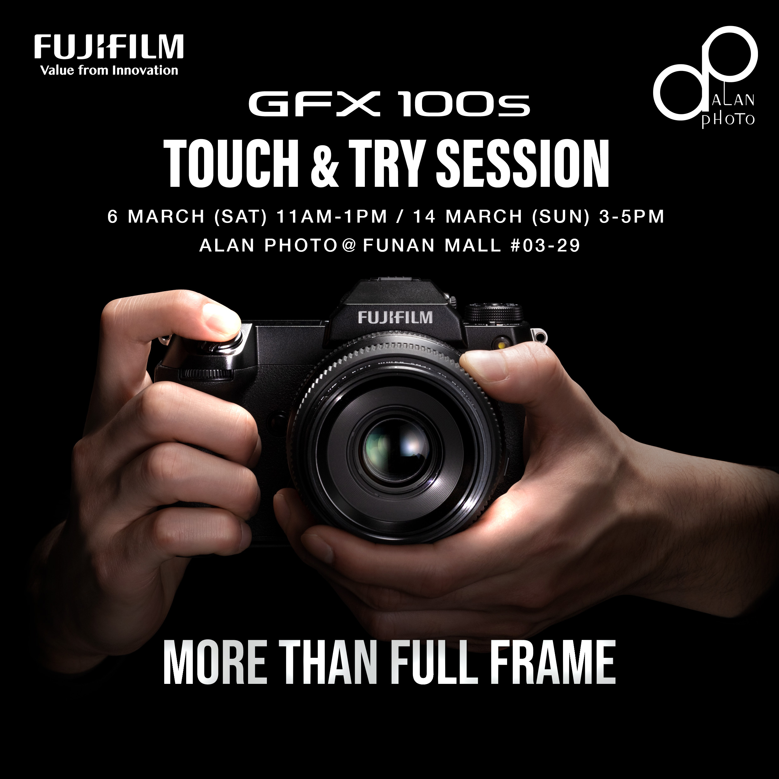 Fujifilm GFX100S | Touch & Try Session!