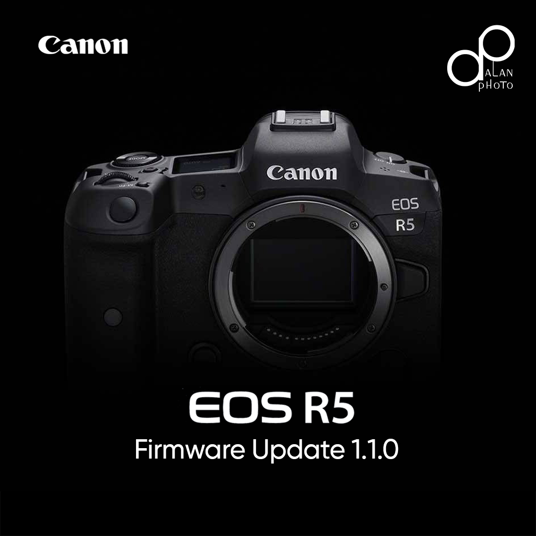 Canon EOS R5 Firmware Updates
